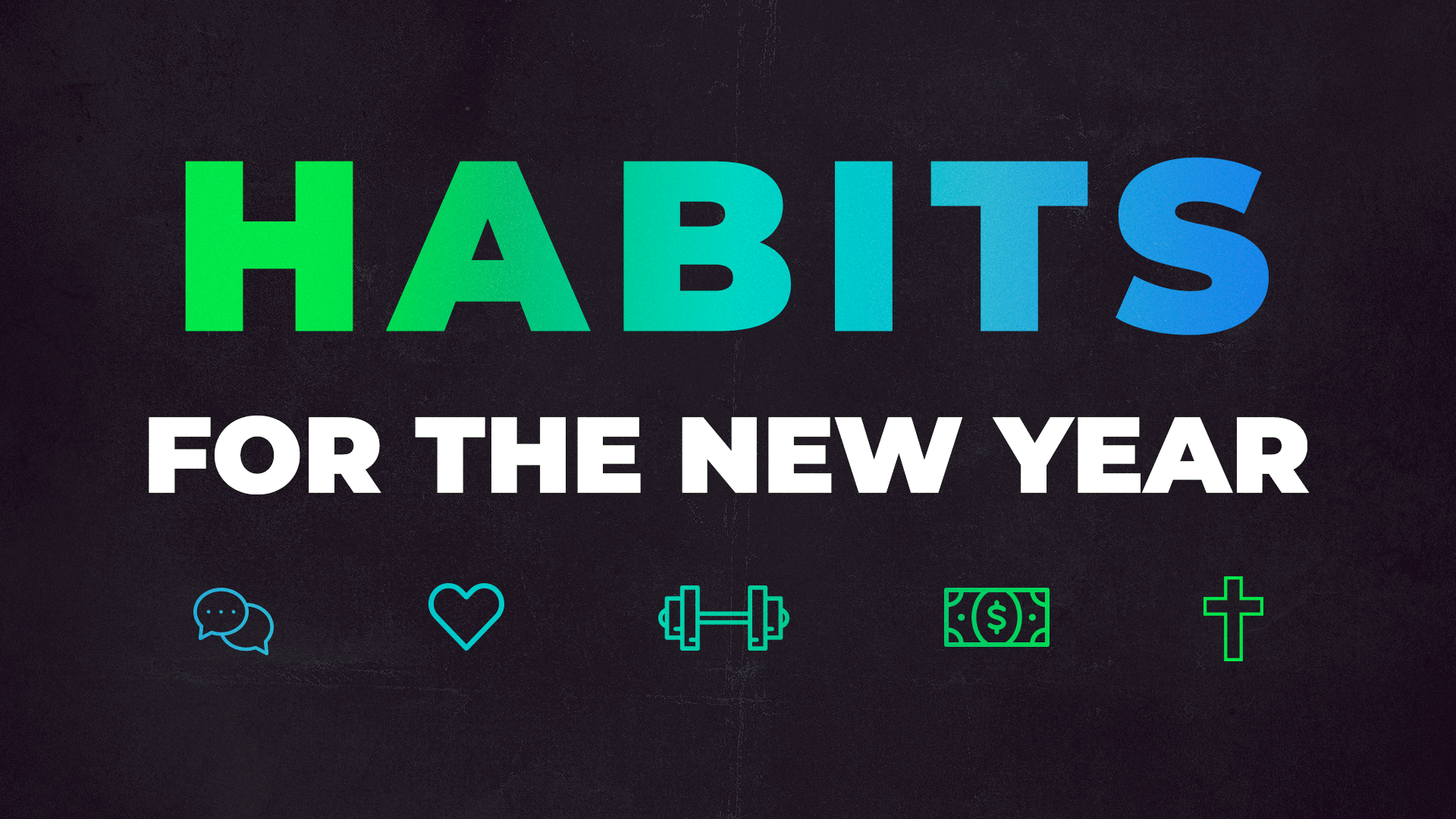 Habits For the New Year