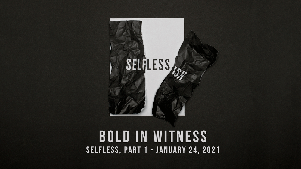 Bold in Witness Image